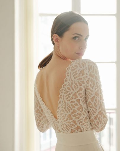 Maison Floret - Robes de mariée - Collection mariage civil 2021 - Blog mariage : La mariée aux pieds nus