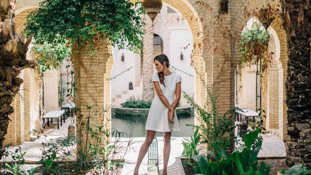Maison Lemoine - Tenue de mariée - Blog mariage : La mariée aux pieds nus