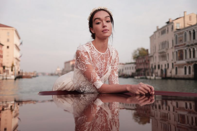 Maison Lemoine - Robes de mariée - Collection 2021 - Photos : Marion Colombani - Blog mariage : La mariée aux pieds nus