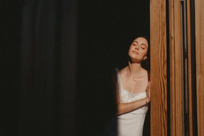 Maison Maelie - Robes de mariée - Collection 2022 - Photos : Coco Egia - Blog mariage : La mariée aux pieds nus