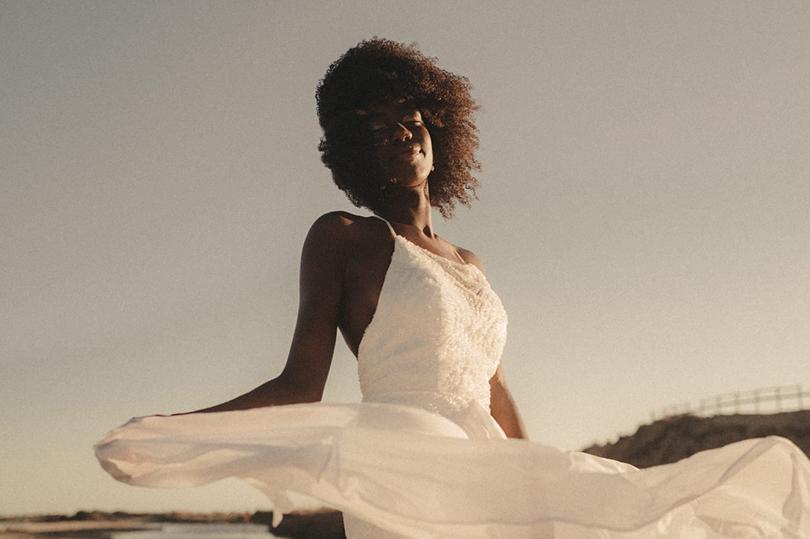 Maison Maelie - Robes de mariée - Collection 2021 - Photos : Cocoegia - Blog mariage : La mariée aux pieds nus