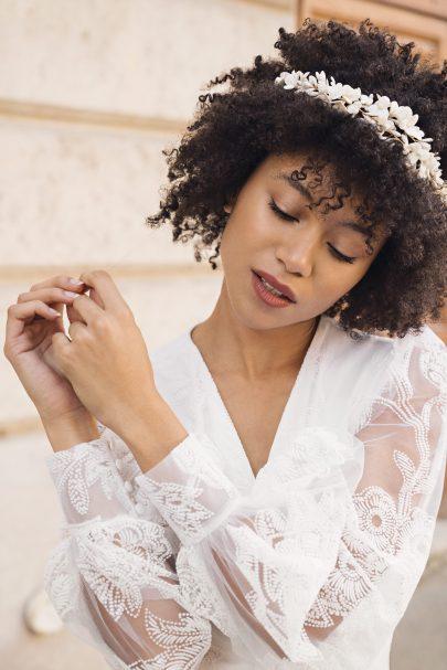 Maison Massillon- Accessoires de mariée - Collection 2021 - Blog mariage : La mariée aux pieds nus