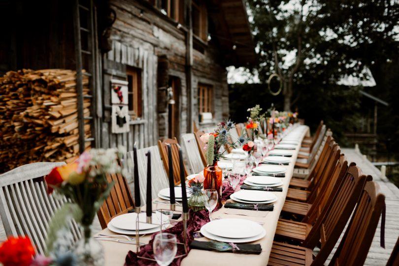 un mariage atypique, coloré et en petit comité en haute-savoie - la