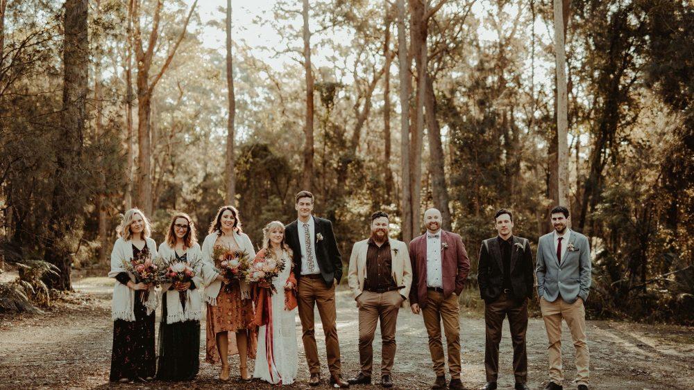 Un mariage simple en Australie - Photos : David Latour - Blog mariage : La mariée aux pieds nus