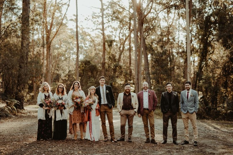 Un mariage simple et convivial en Australie