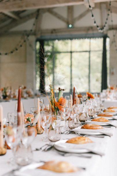 Un mariage d'automne au Domaine de Blanche Fleur près d'Avignon - Photos : Chloé Lapeyssonnie - Blog mariage La mariée aux pieds nus