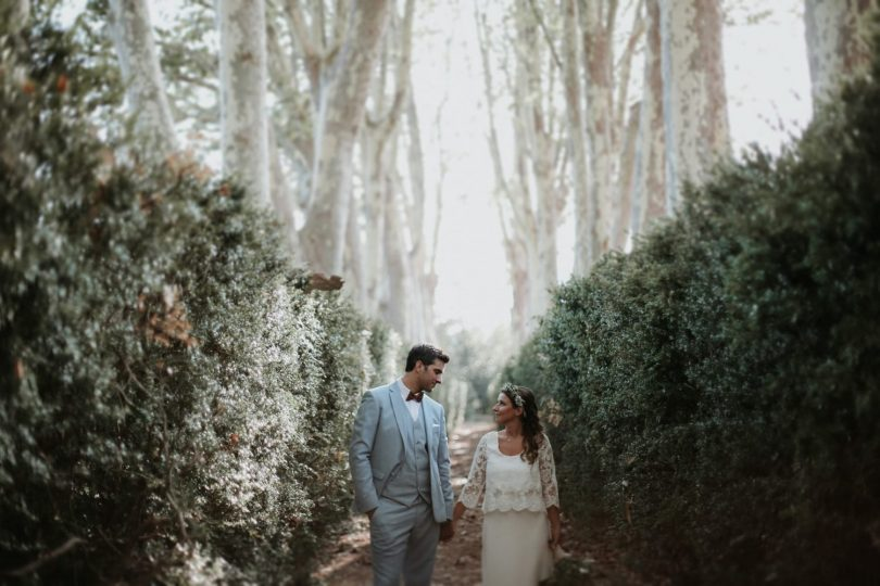 Un mariage au Domaine de la Baratonne près de Marseille