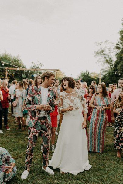 Un mariage bohème et coloré au Pays-Basque - Photos : Baptiste Hauville - Blog mariage : La mariée aux pieds nus