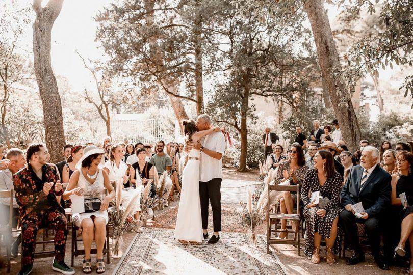 Un mariage bohème au Domaine de la Grangette dans l'Hérault - Photos : Rock'n Brides - Blog mariage : La mariée aux pieds nus