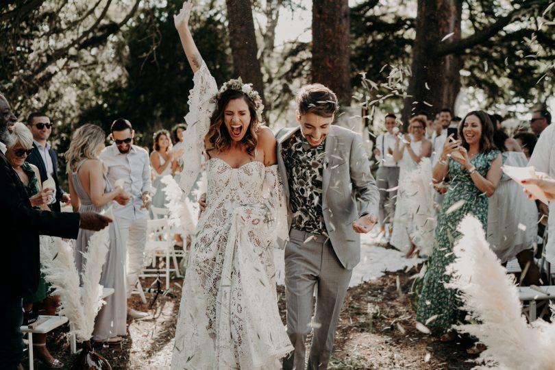 Un mariage bohème au Domaine de Ravatys