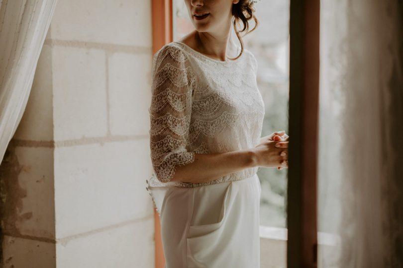 Un mariage au Domaine du Marchais Bouchet près d'Angers - Photos : Dorothée Buteau - Blog mariage : La mariée aux pieds nus