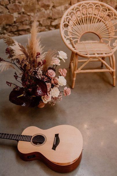 Un mariage boho indus à La Factory près de Lyon - Photos : Marion Brunel - Blog mariage : La mariée aux pieds nus