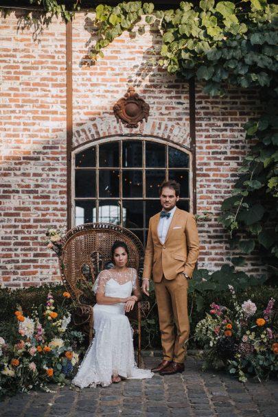 Un mariage au Domaine des Bonnes Joies en région Parisienne - Photos : NeuPap Photography - Blog mariage : La mariée aux pieds nus