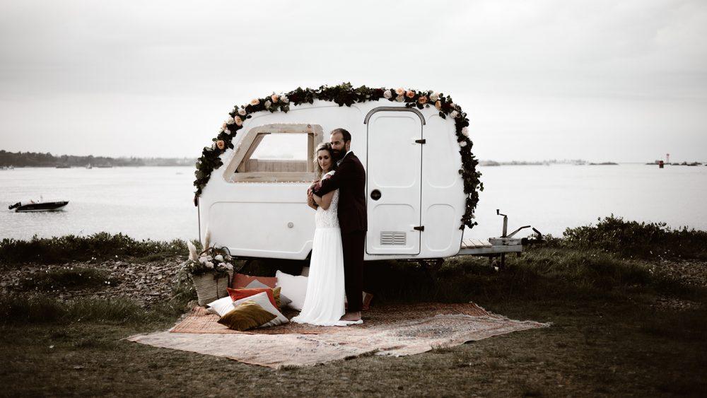 Un mariage en Bretagne - La mariée aux pieds nus
