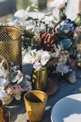 Un mariage pastel en Camargue - Shooting d'inspiration - A découvrir sur le blog mariage www.lamarieeauxpiedsnus.com - Photos : Lorenzo Accardi - Stylisme : Atelier Blanc