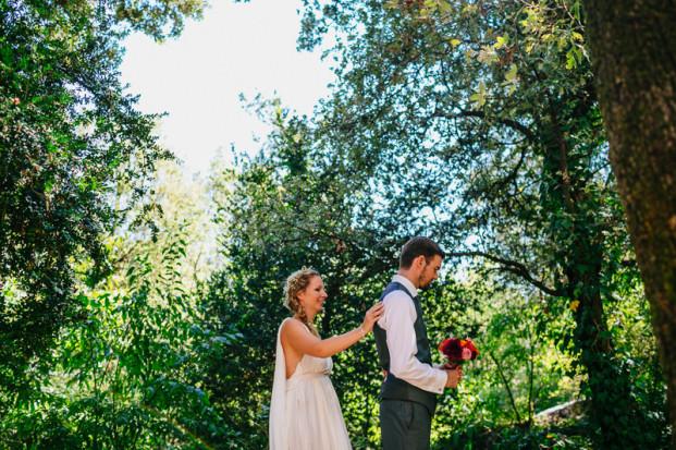 Davidone - Un mariage colore dans les Cevennes - La mariee aux pieds nus