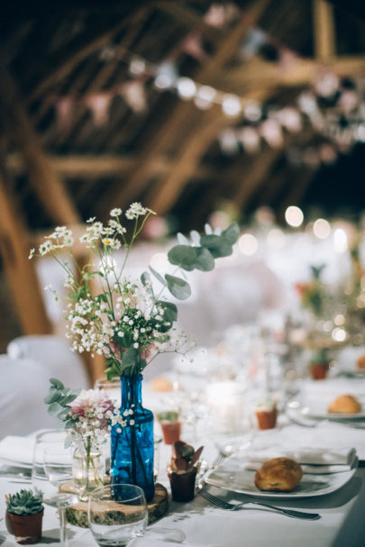 Un mariage champêtre en Bourgogne - A découvrir sur le blog mariage www.lamarieeauxpiedsnus.com - Photo : Marion Dunyach