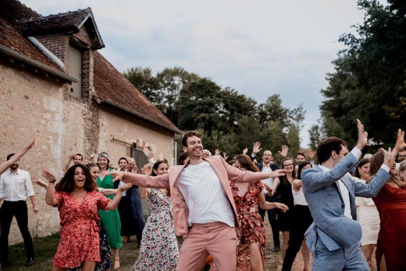 Un mariage champêtre au Domaine de Ronsard dans le Perche - Photos : Camille Collin - Blog mariage : La mariée aux pieds nus