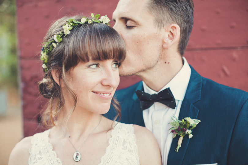 Un mariage champetre à Bergerac - A découvrir sur le blog mariage www.lamarieeauxpiedsnus.com - Photos : Anne Claire Brun