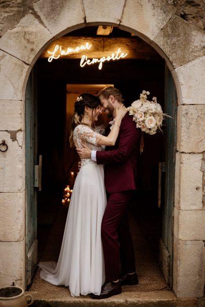 Un mariage au Château de Barbirey en Bourgogne - Photos : Dall'k - Blog mariage : La mariée aux pieds nus