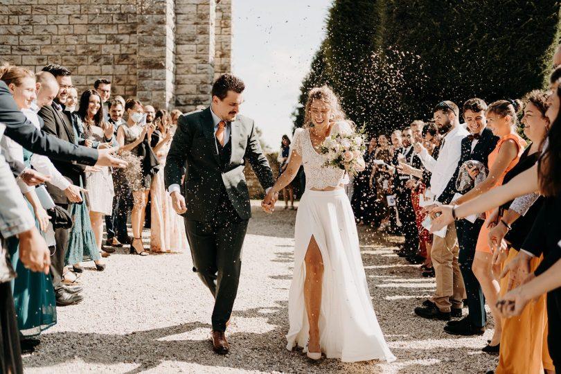 Un mariage au Château de Montplaisant dans l'Ain - Photos : Sidonie Vidal - Blog mariage : La mariée aux pieds nus