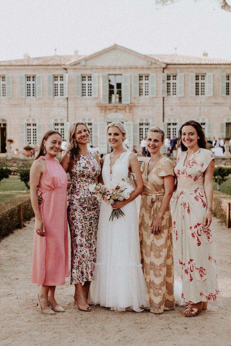 Un mariage au Château de la Mogère à Montpellier dans l'Hérault - Photos : Pinewood Weddings - Blog mariage : La mariée aux pieds nus