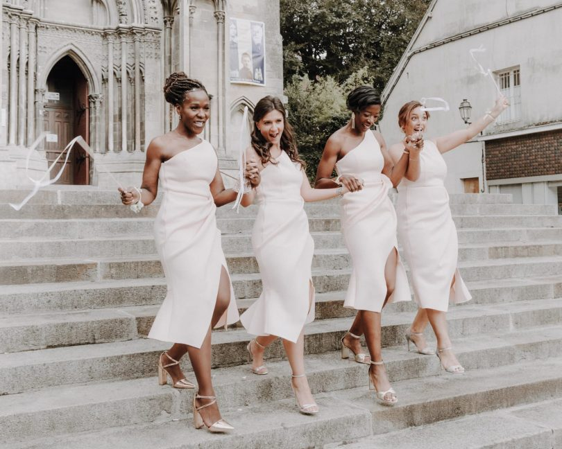 Un mariage chic au Manoir de L'Evêché en Normandie - Photos : Marie Thibault - Blog mariage : La mariée aux pieds nus