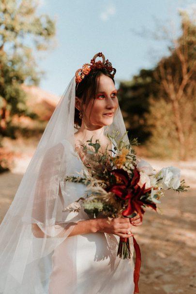 Un mariage au coeur du Colorado Provençal - Photos : Anne Sophie Benoit - Blog mariage : La mariée aux pieds nus