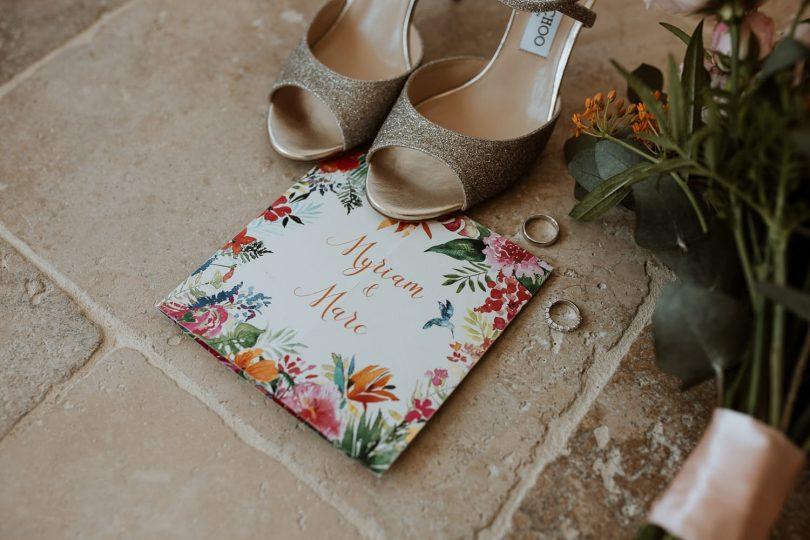 Un mariage coloré au Château des Costes dans le Var - Photos : Soulpics - Blog mariage : La mariée aux pieds nus