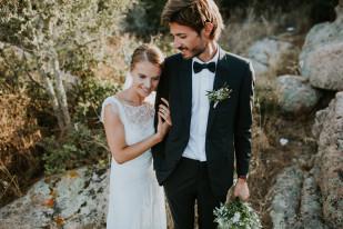 Un mariage à Porto Vecchio en Corse - A découvrir sur le blog mariage www.lamarieeauxpiedsnus.com - Photos : Coralie Lescieux