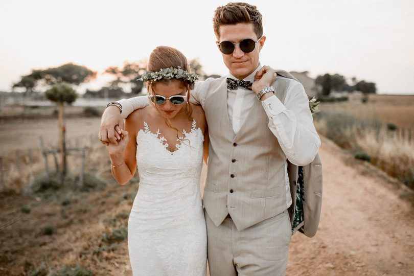 Un mariage au Domaine de Fangouse en Camargue - Photos : Rock'n Brides- Blog mariage : La mariée aux pieds nus