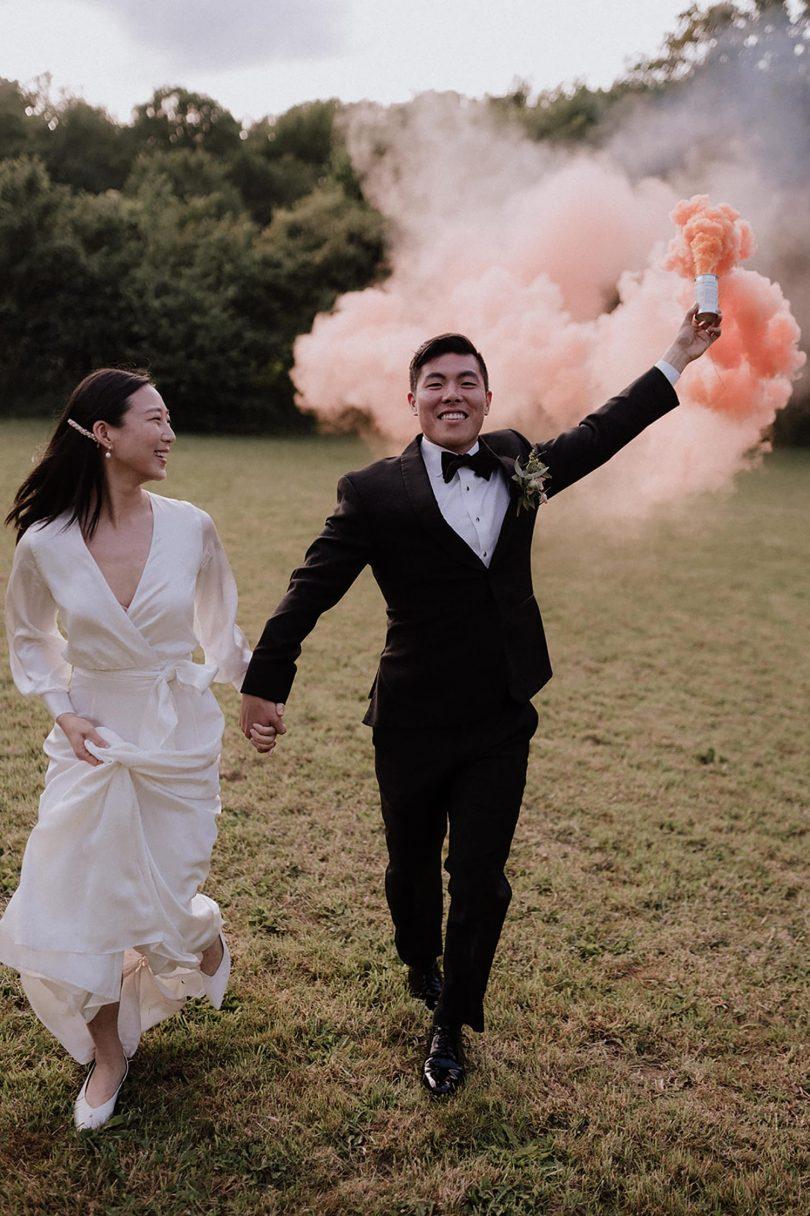 Un mariage au Domaine de la Fée Verte dans le Vexin - Photos : Lika Banshoya - Blog mariage : La mariée aux pieds nus