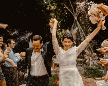 Un mariage au Domaine Launay Chauvel près de Rennes en Bretagne - Photos : Medhi Hemart - Blog mariage : La mariée aux pieds nus