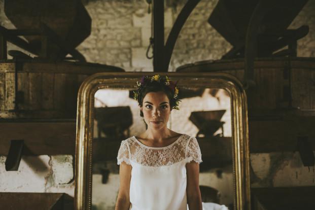 Un mariage dans un moulin en Dordogne - A découvrir sur le blog mariage www.lamarieeauxpiedsnus.com - Photos : Steven Bassilieaux