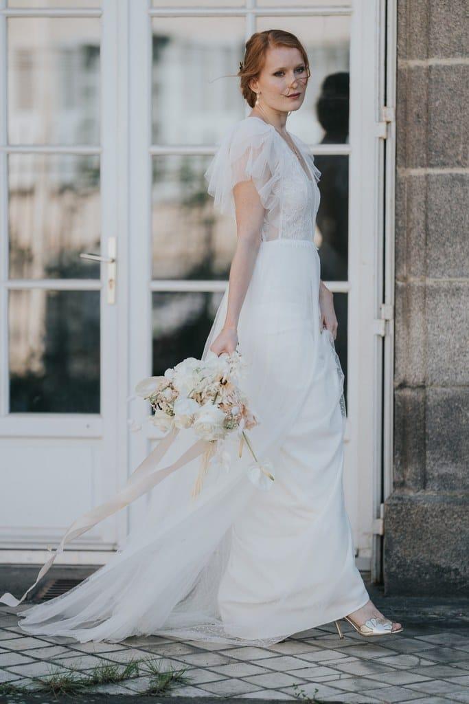 Un mariage élégant et romantique - Photos : Vivien Malagnat - Blog mariage : La mariée aux pieds nus