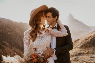 Un elopement bohème à Zermatt en Suisse - Photos : Cécilia Hofer - Blog mariage : La mariée aux pieds nus