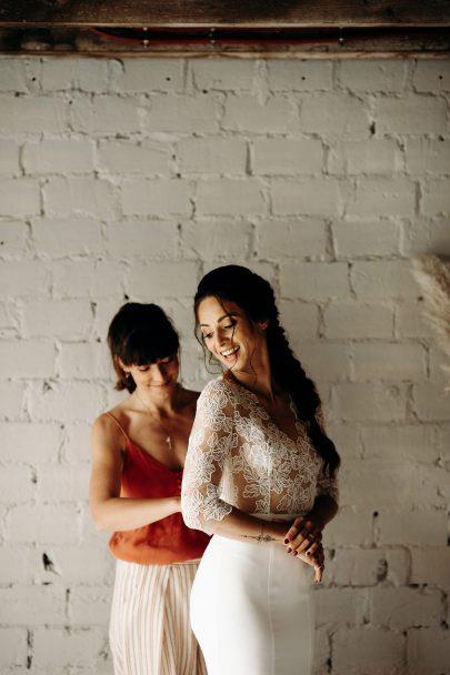 Un mariage à la Ferme du Prieuré dans les Yvelines - Photos : Mélody Barabé - Blog mariage : La mariée aux pieds nus