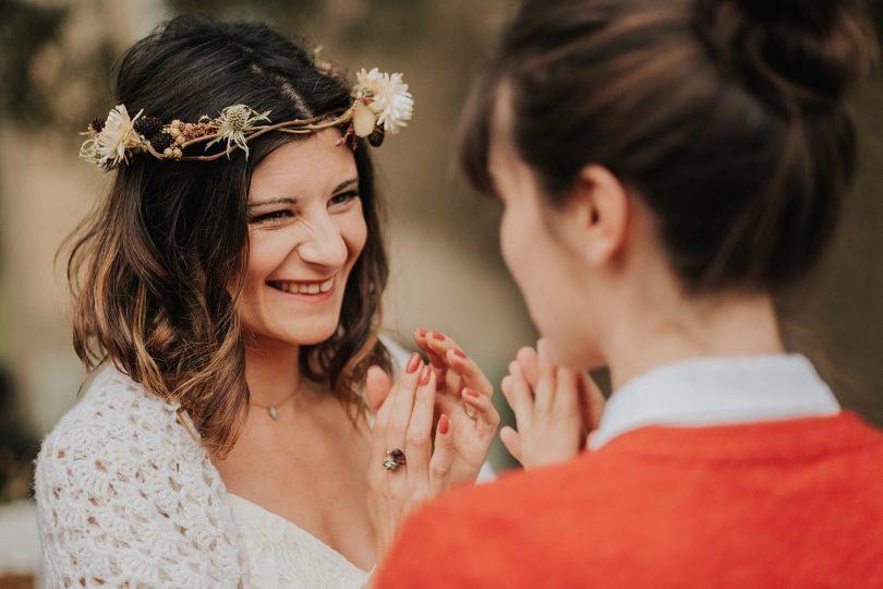 Des fiançailles sous la pluie dans une bergerie du Var - Photos : VAléry Villard - Blog mariage : La mariée aux pieds nus
