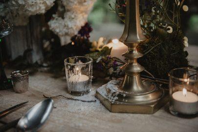 Un mariage folk dans la forêt - La mariée aux pieds nus