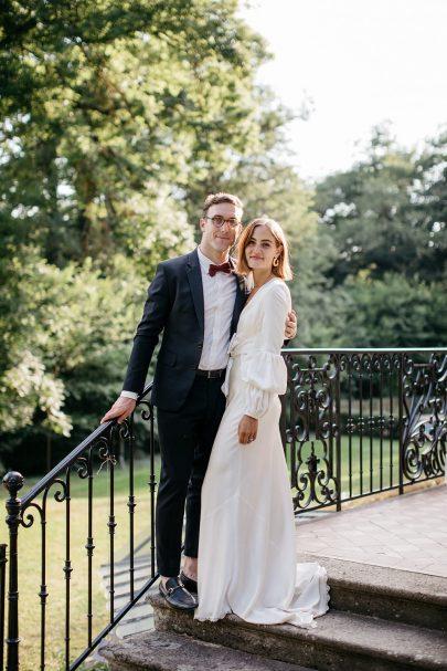 Un mariage en petit comité au Château de Fretoy en Bourgogne - Photos : Lifestories Wedding - Blog mariage : La mariée aux pieds nus