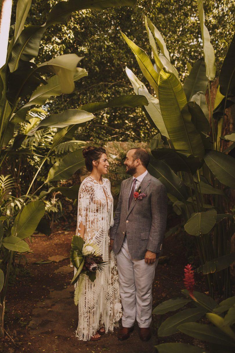 Un mariage dans une hacienda au Mexique - Photos : Jérémy Boyer - Robe : Rue de Seine - Blog mariage : La mariée aux pieds nus