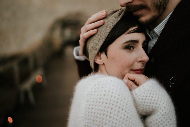 Un mariage éco-responsable en hiver - Photographe : Aurélien Bretonnière - Blog mariage : La mariée aux pieds nus