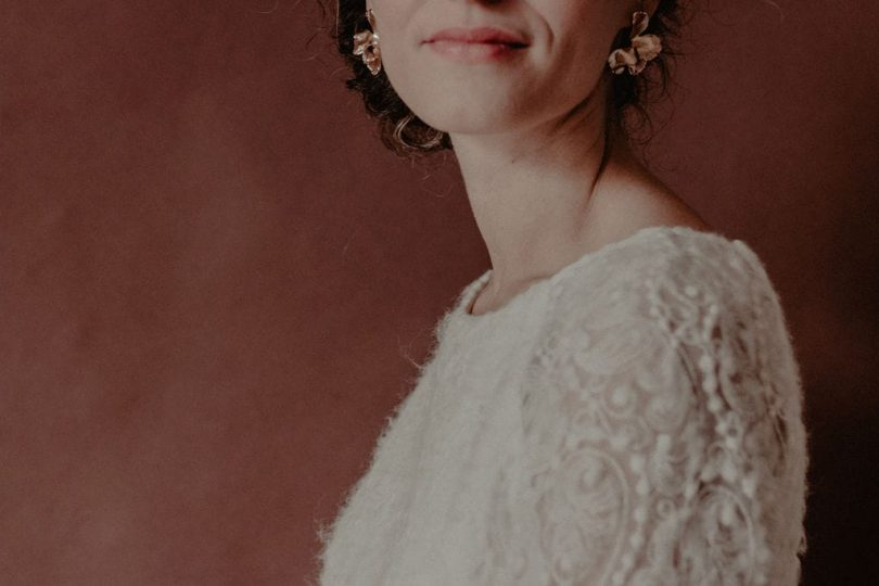 Un mariage couleur brique en hiver au Domaine de Puissentut - Photos : Marine Arborio - Blog mariage : La mariée aux pieds nus