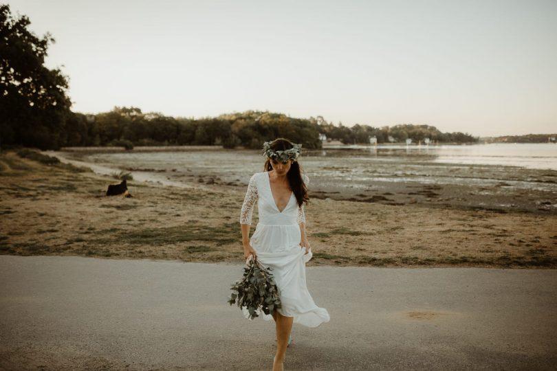 Un mariage au Domaine du Guerric sur l'Île aux Moines - Photos : Aurélien Bretonnière - Blog mariage : La mariée aux pieds nus