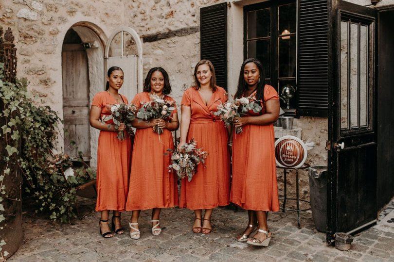 Un mariage bohème-folk et indus au Domaine des Bonnes Joies - Photos : Yoris Photographer - Blog mariage : La mariée aux pieds nus