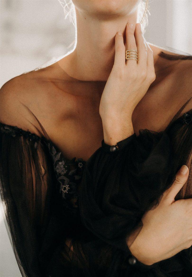 Un mariage indus en noir et blanc - Photos : Alejandra Loaiza - Blog mariage : La mariée aux pieds nus