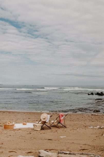 Un mariage en petit comité sur une plage du Pays Basque - Phots : Yoris Photographer - Blog mariage : La mariée aux pieds nus