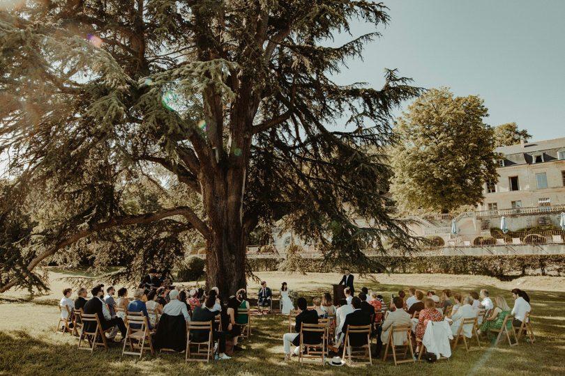 Un mariage simple et coloré au Domaine des Bidaudières - David Latour - La mariée aux pieds nus