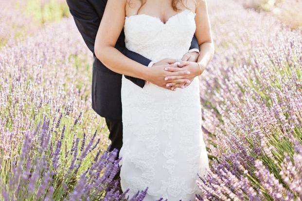 Xavier Navarro - Un mariage en Provence - La mariee aux pieds nus