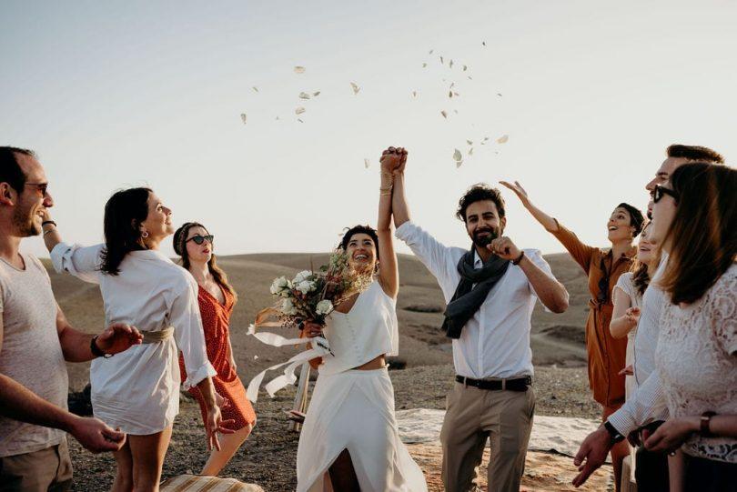 Un mariage à Marrakech - Photos : Sophie Masiewicz Photographie - Blog marigae : La mariée aux pieds nus
